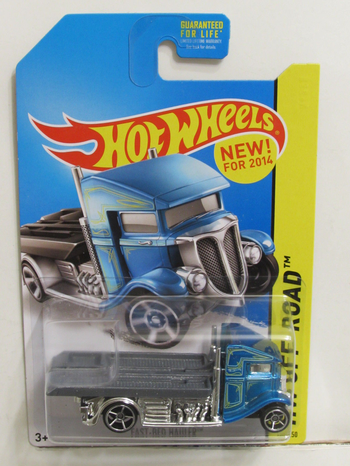 HOT WHEELS 2014 HW OFF ROAD STUNT CIRCUIT FAST-BED HAULER