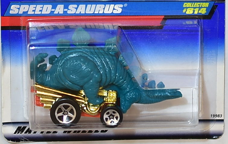 HOT WHEELS 1998 SPEED - A - SAURUS #814