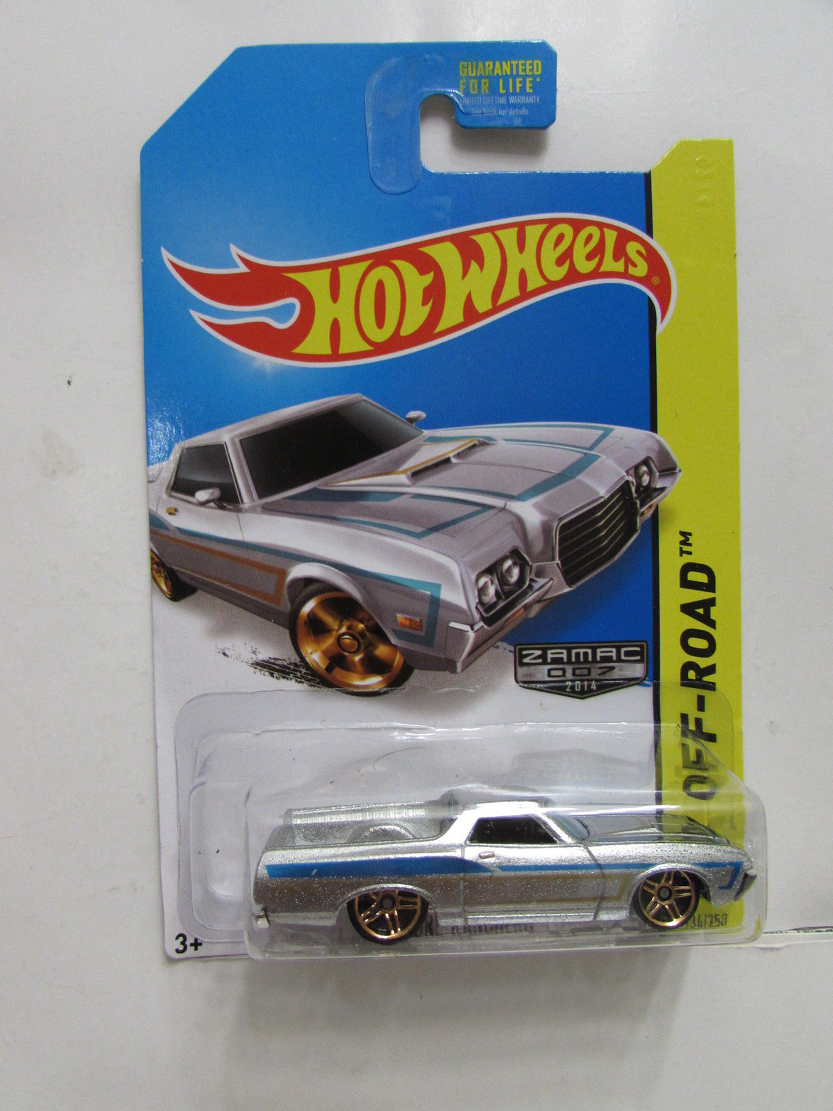 HOT WHEELS 2014 HW OFF ROAD - HW HOT TRUCKS '72 FORD RANCHERO ZAMAC