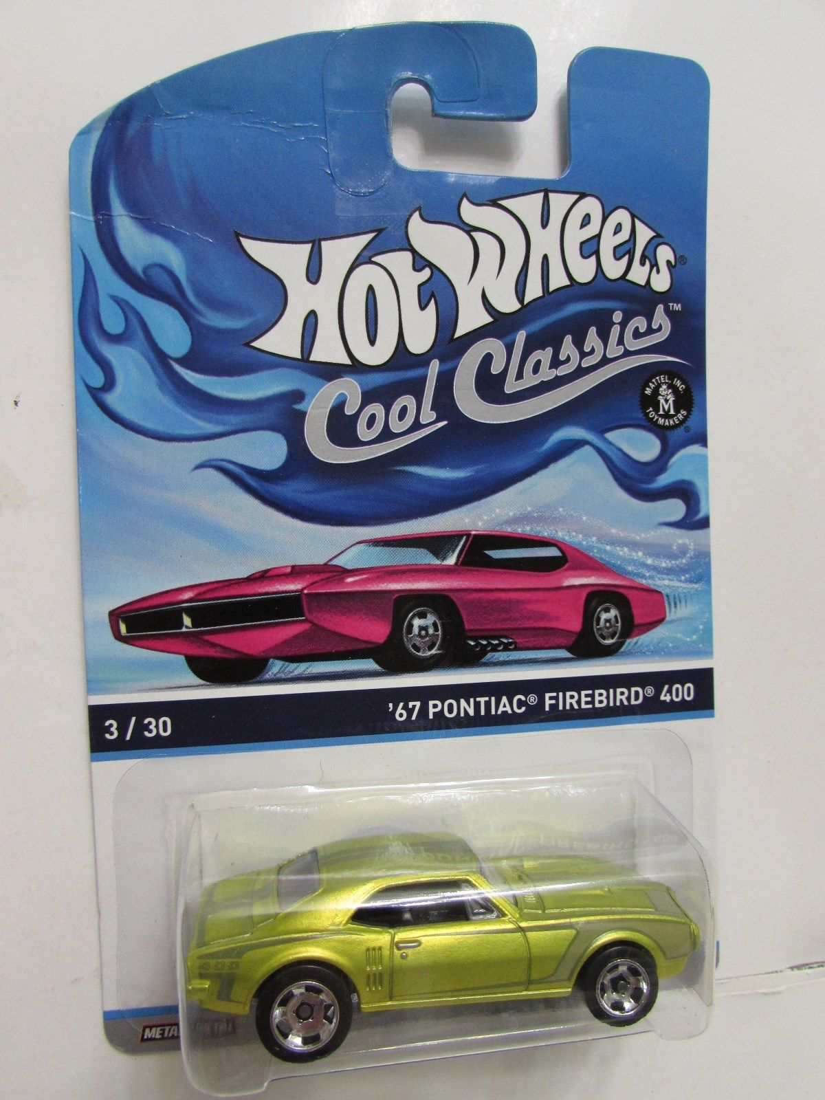 HOT WHEELS COOL CLASSICS #4/30 '67 PONTIAC FIREBIRD 400