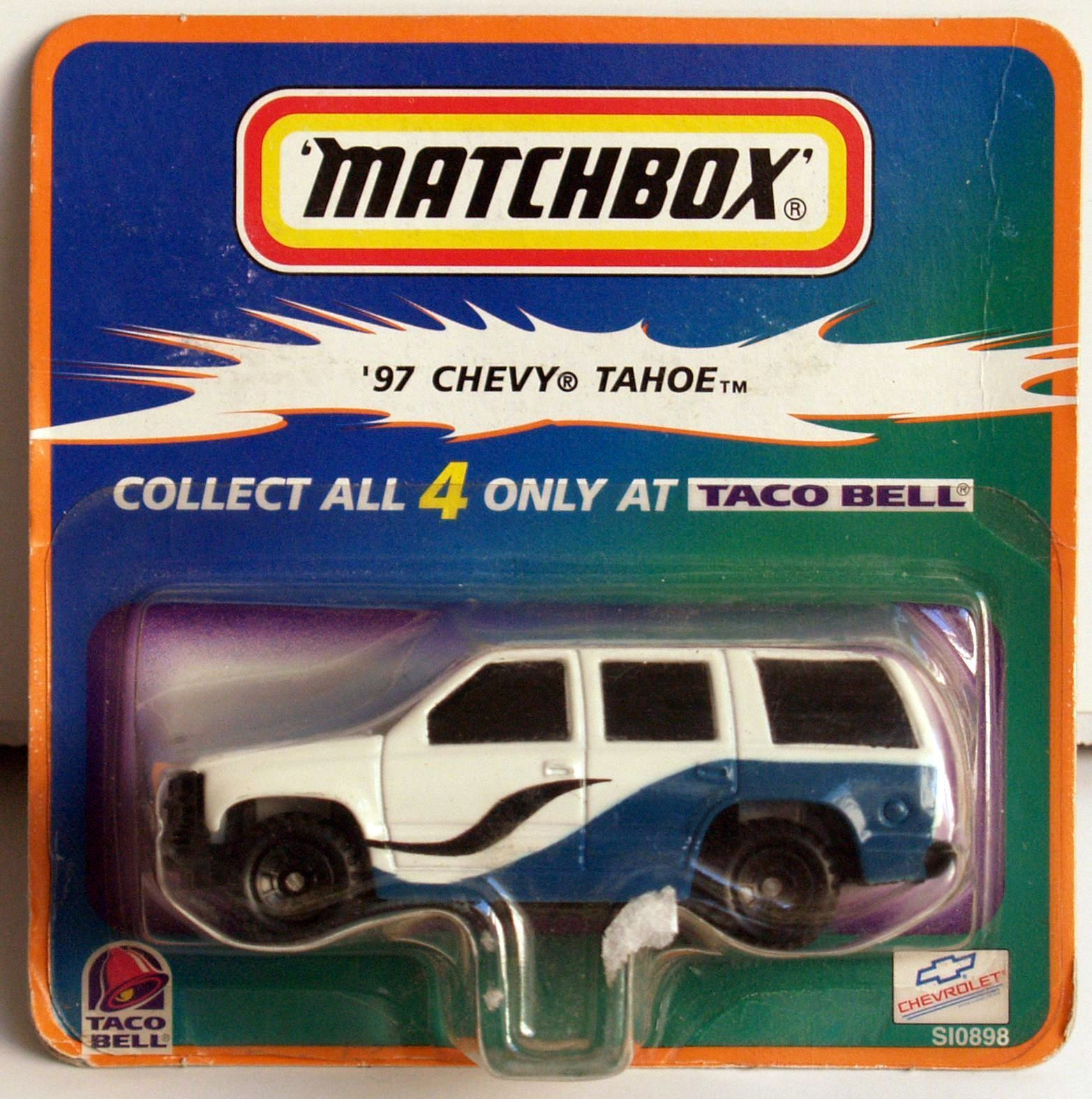 MATCHBOX TACO BELL '97 CHEVY TAHOE
