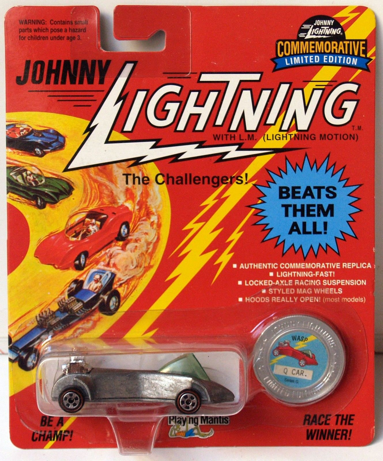 JOHNNY LIGHTNING COMMEMORATIVE ZAMAC - SERIES G