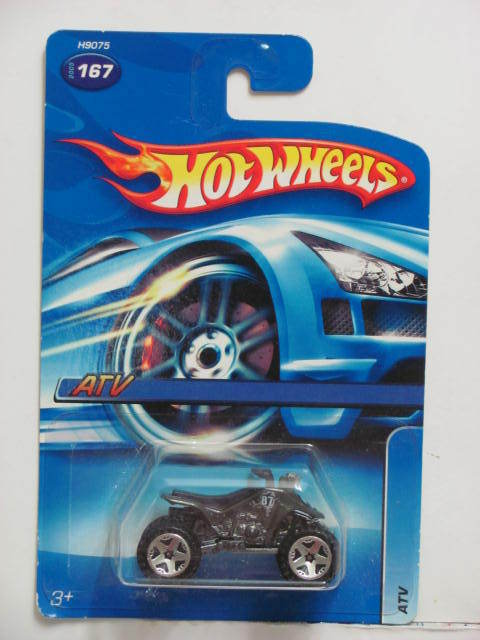 HOT WHEELS 2005 ATV #167 OLIVE