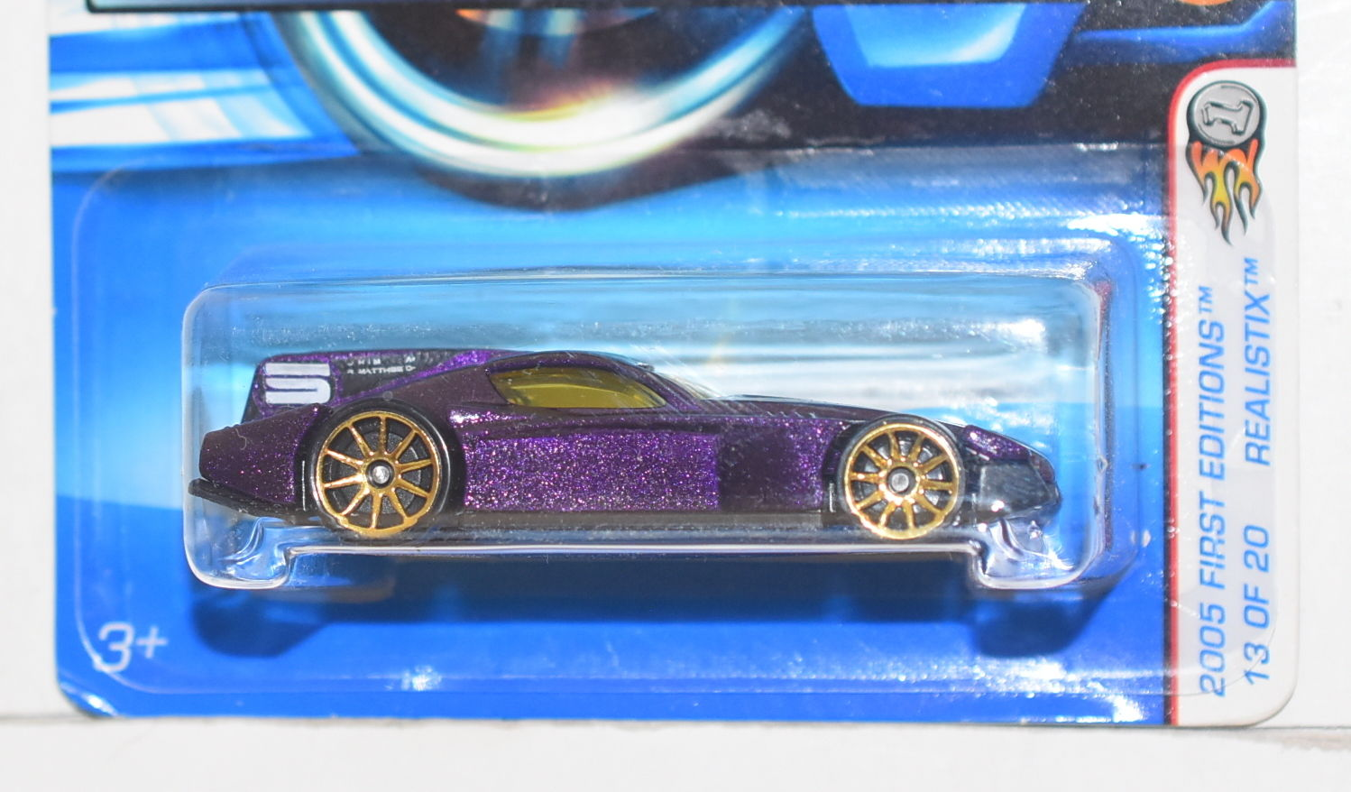 HOT WHEELS 2005 REALISTIX FIRST EDITIONS FORMUL8R PURPLE