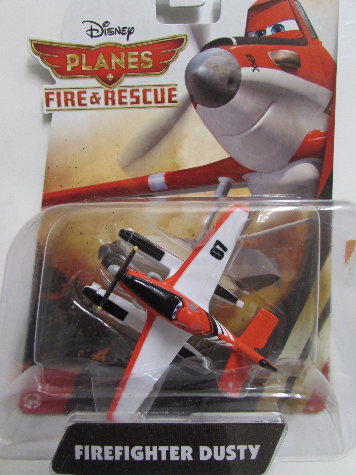 DISNEY PLANES FIRE & RESCUE FIREFIGHTER DUSTY