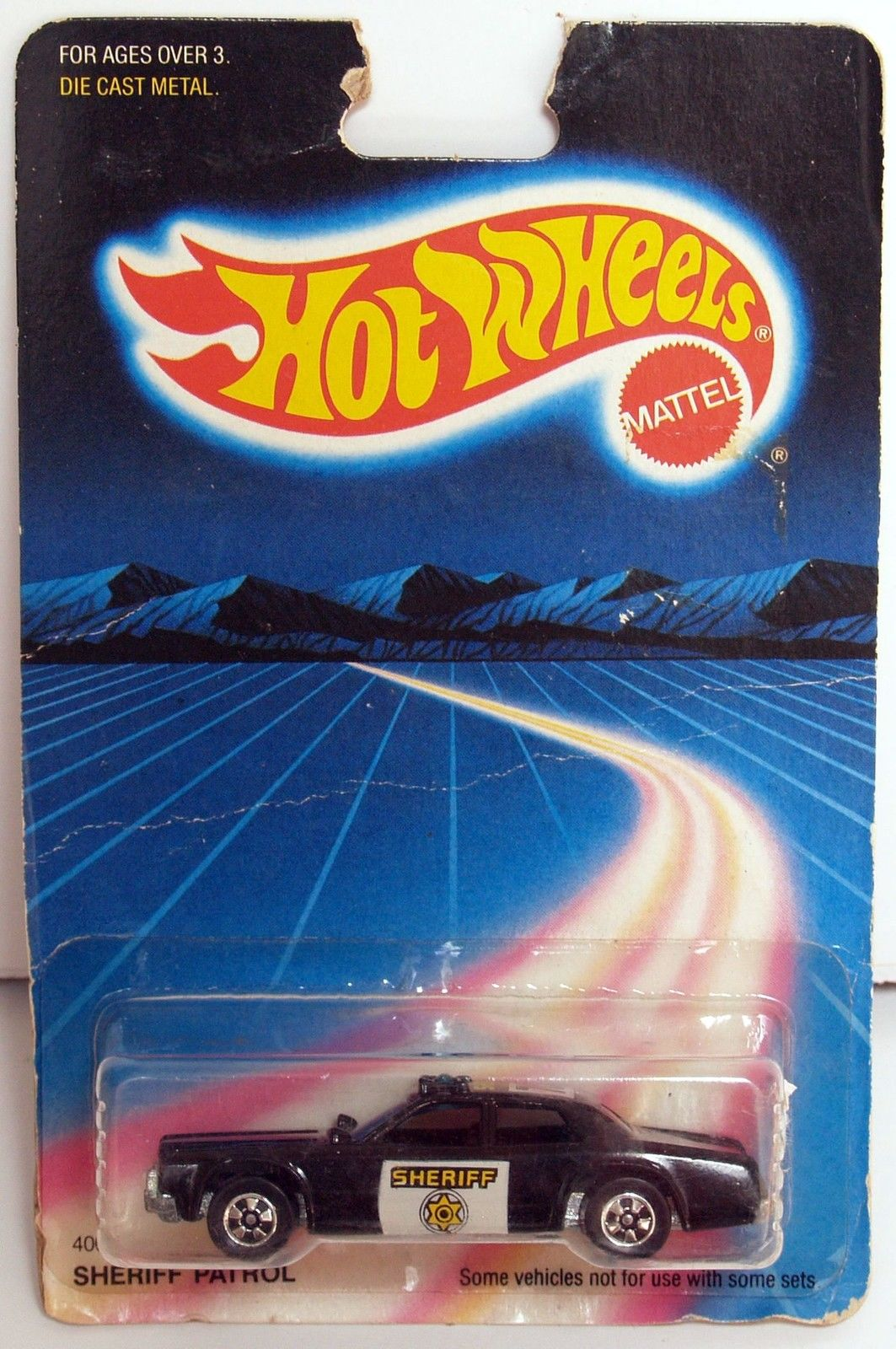 HOT WHEELS 1986 SHERIFF PATROL