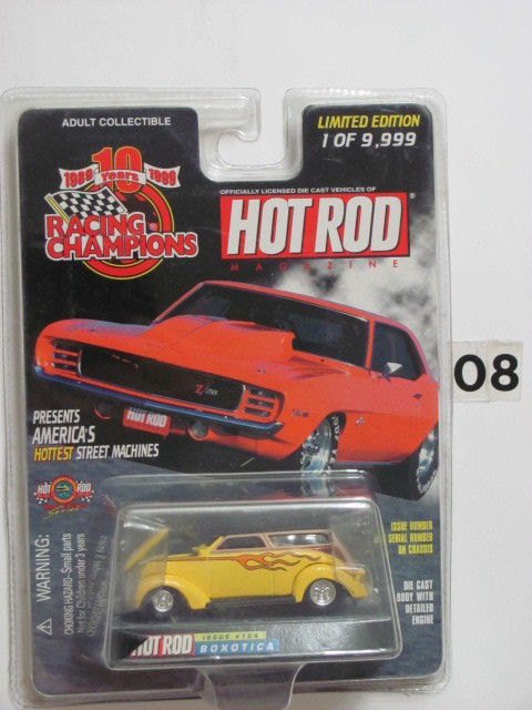 RACING CHAMPIONS HOT ROD COLLECTIBLES ISSUE #124 BOXOTICA