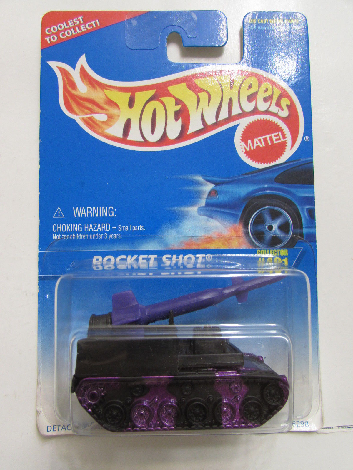HOT WHEELS 1996 ROCKET SHOT #491