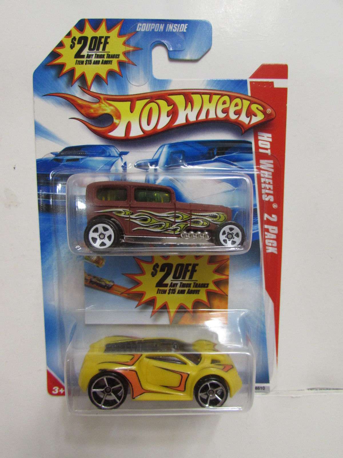 HOT WHEELS 2 CAR PACK MIDNIGHT OTTO - ULTRA RAGE
