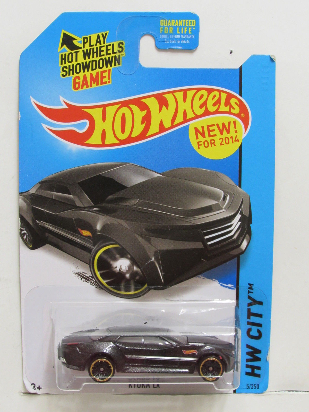 HOT WHEELS 2014 HW CITY-HW CITY WORKS RYURA LX BLACK