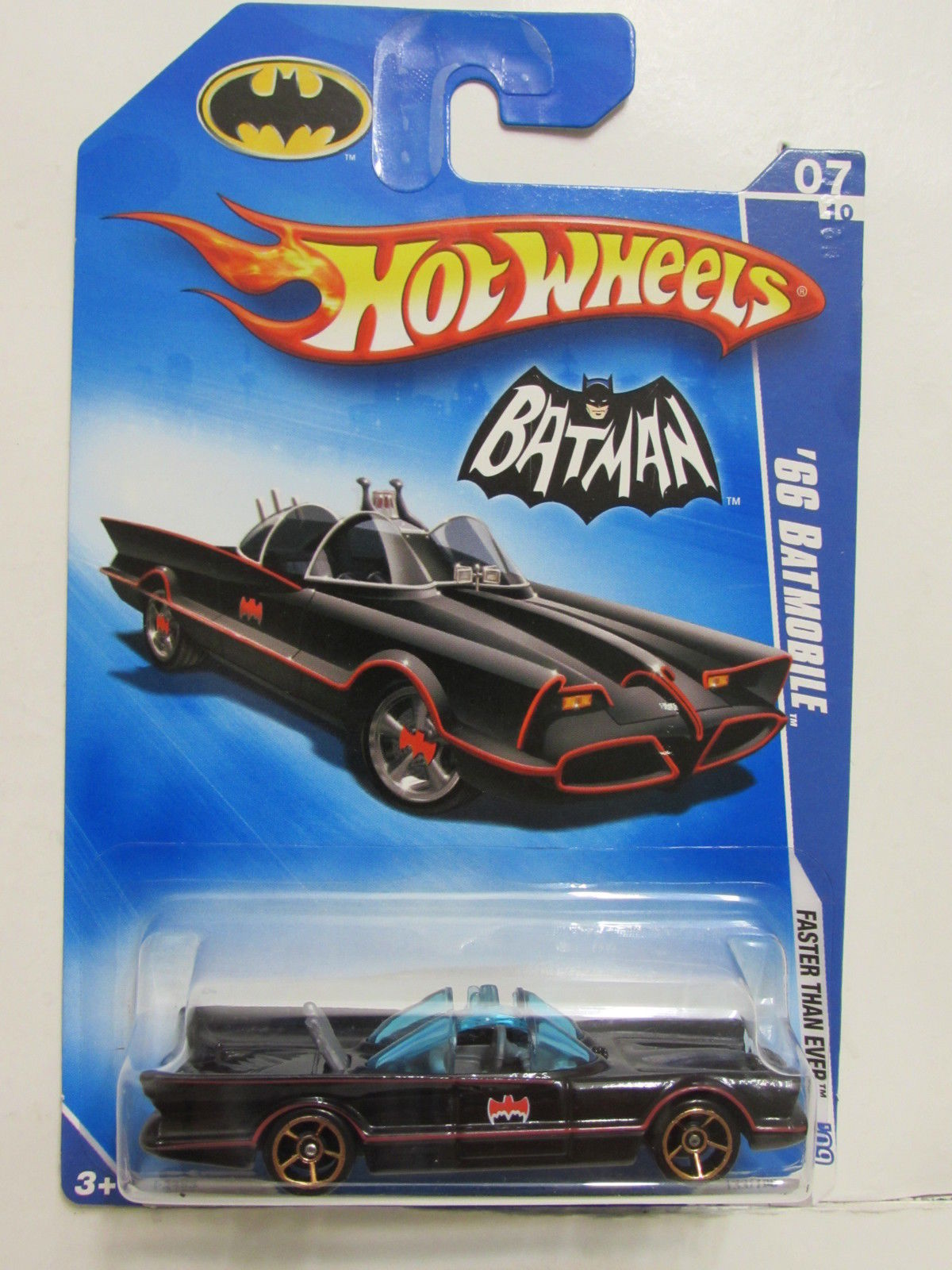 HOT WHEELS 2009 FTE '66 BATMOBILE