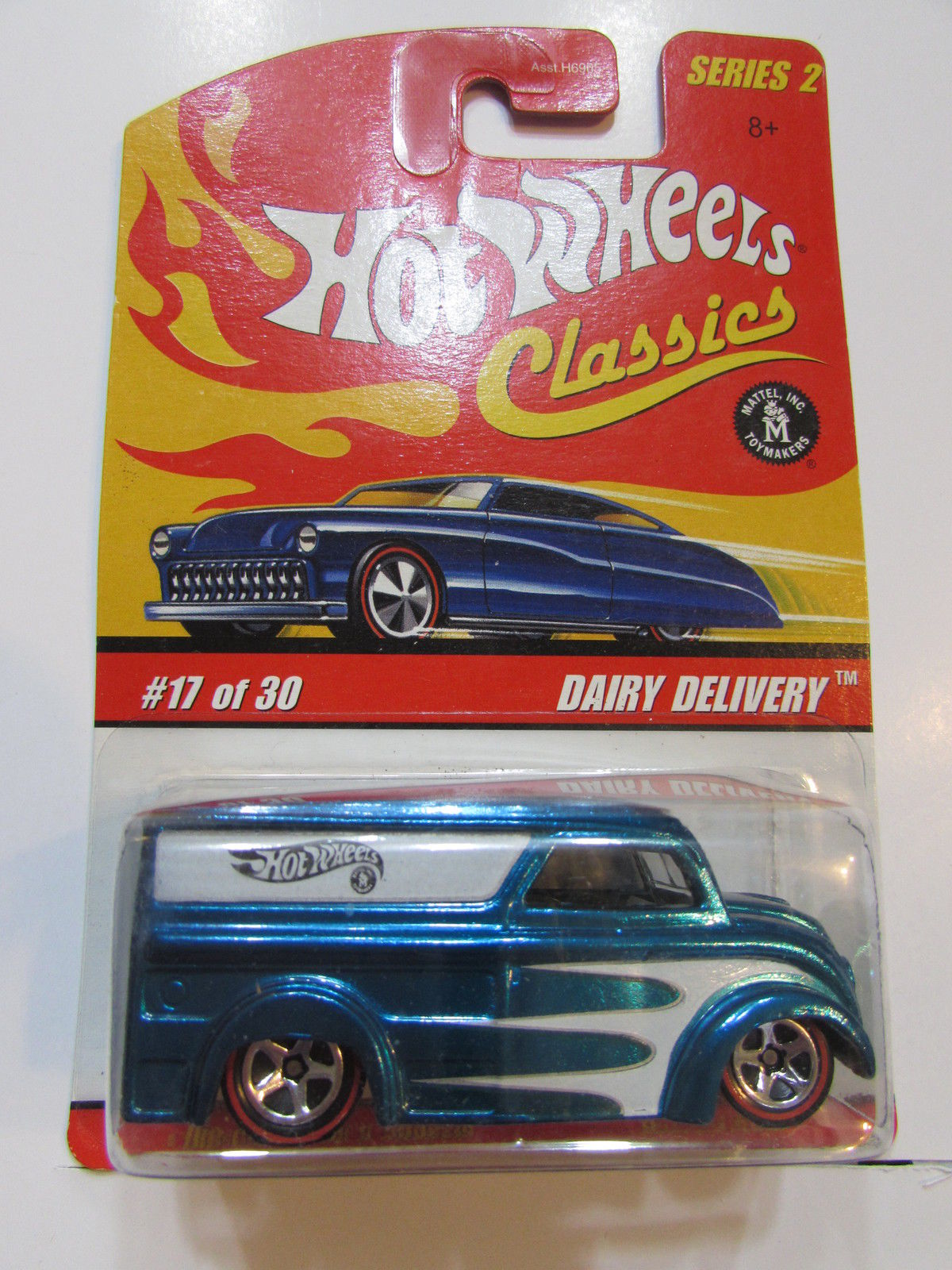 HOT WHEELS CLASSICS SERIES 2 #17/30 DAIRY DELIVERY