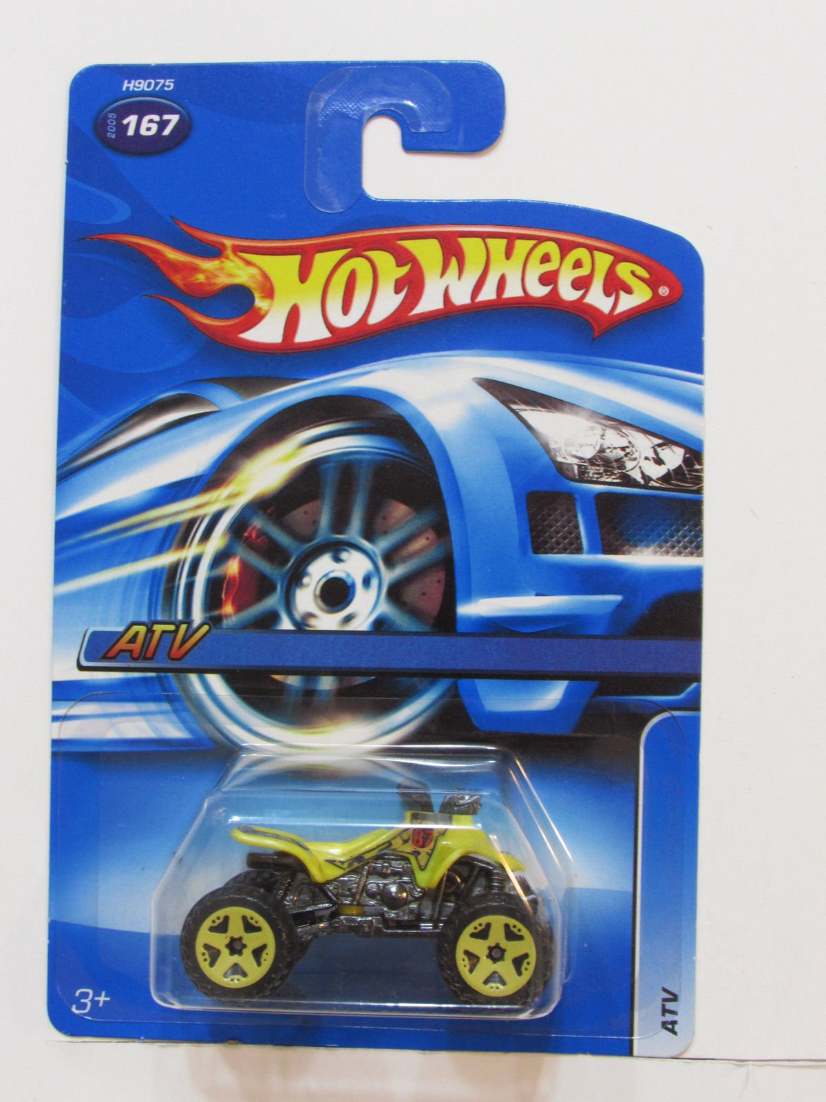 HOT WHEELS 2005 ATV #167 YELLOW