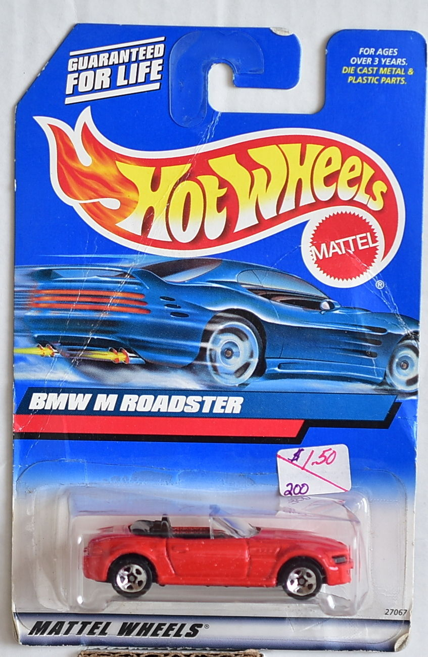 HOT WHEELS 2000 BMW M ROADSTER #100 RED