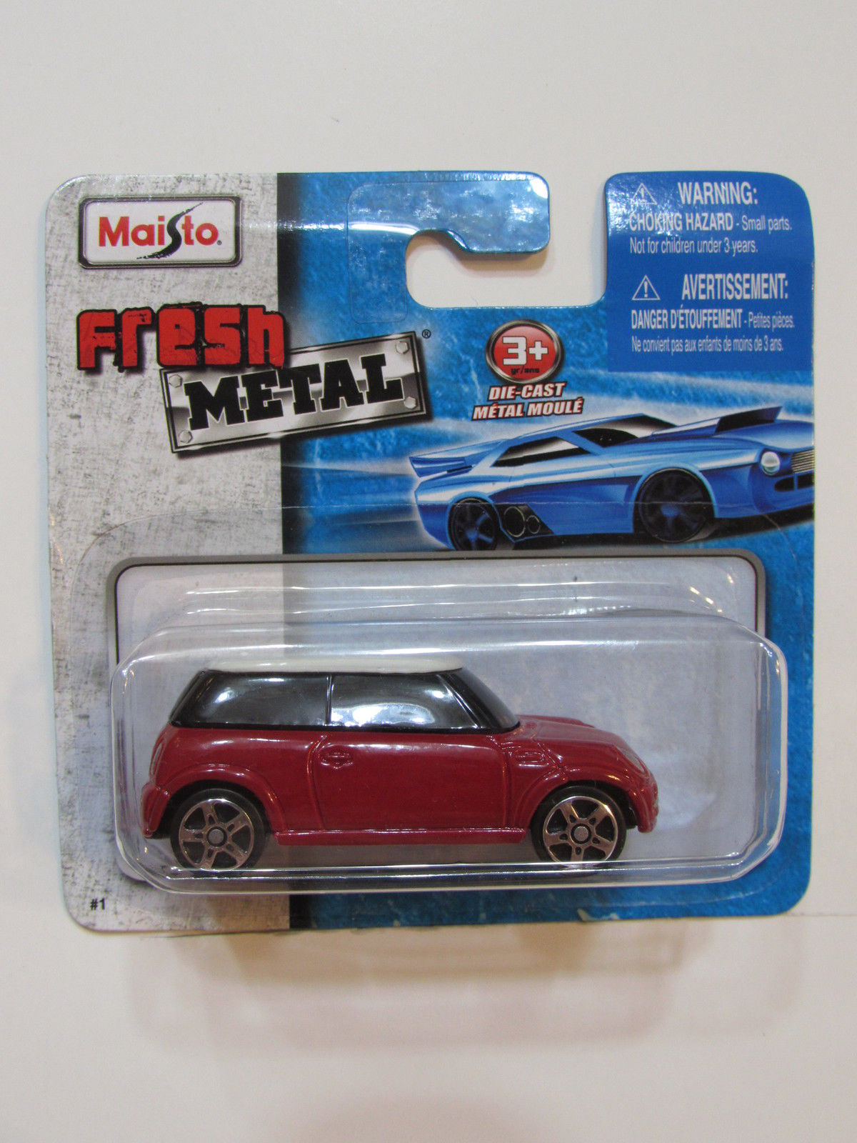 MAISTO METAL MINI COOPER 1:64 SCALE