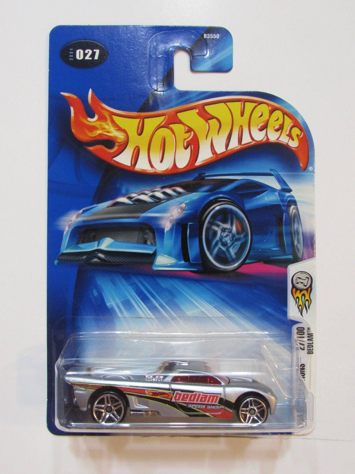 HOT WHEELS 2004 FIRST EDITIONS #27/100 BEDLAM SILVER