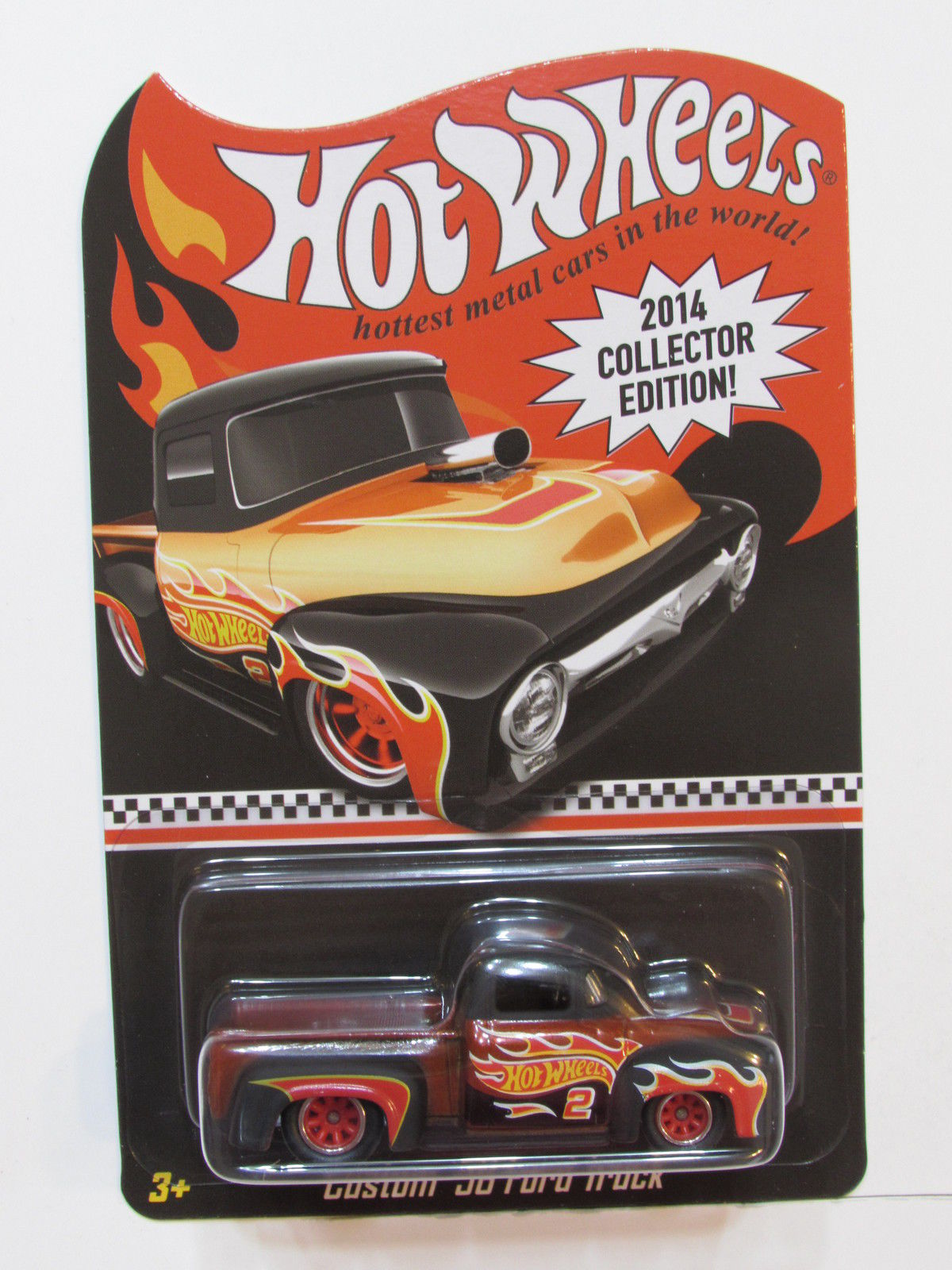 HOT WHEELS 2014 COLLECTOR EDITION KMART MAIL IN CUSTOM '56 FORD TRUCK