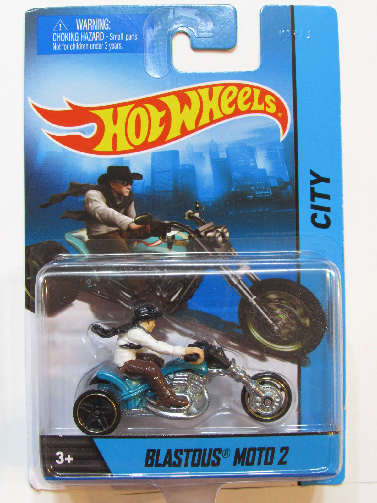 HOT WHEELS MOTORCYCLE - CITY BLASTOUS MOTO 2