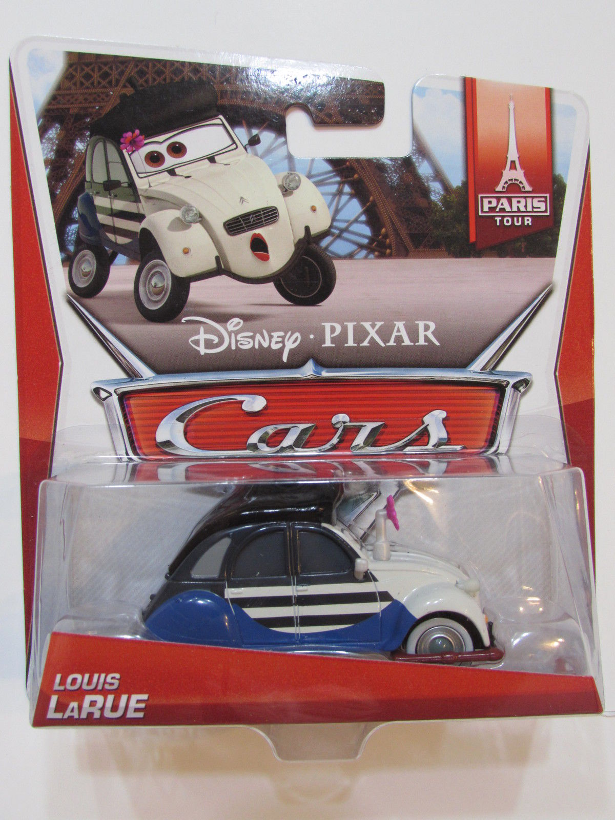 DISNEY PIXAR CARS PARIS TOUR LOUIS LARUE