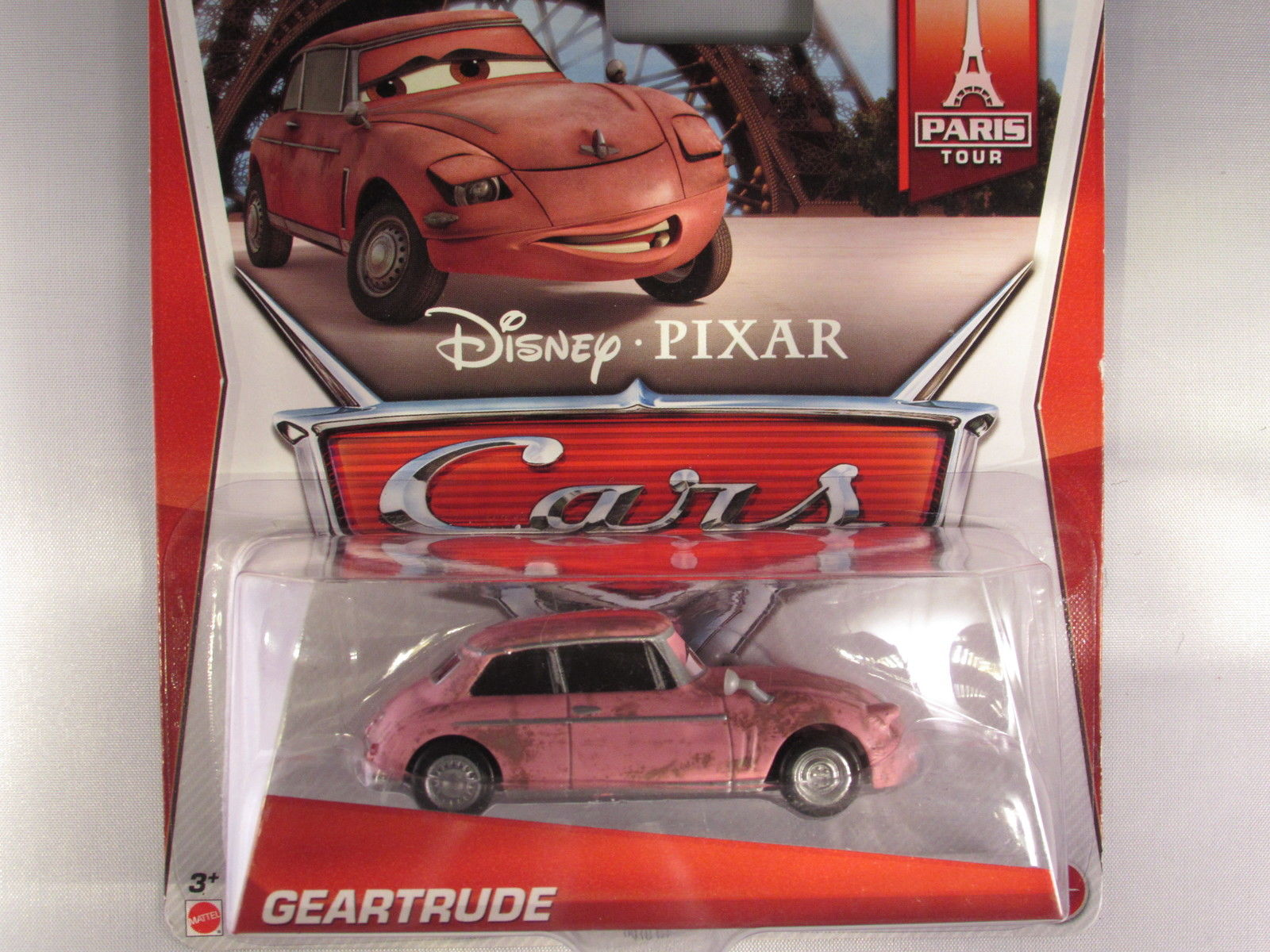 DISNEY PIXAR CARS PARIS TOUR GEARTRUDE