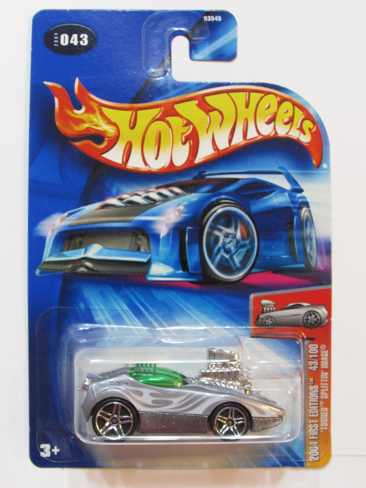 HOT WHEELS 2004 FIRST EDITIONS - TOONED SPLITTIN IMAGE GRAY