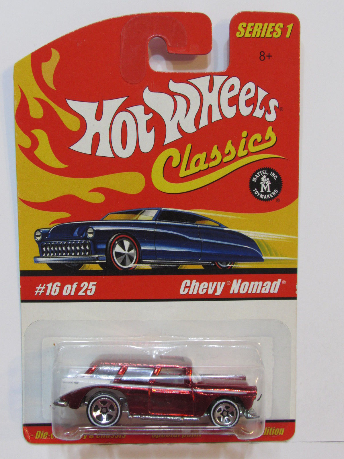 HOT WHEELS CLASSICS SERIES 1 #16/25 CHEVY NOMAD RED