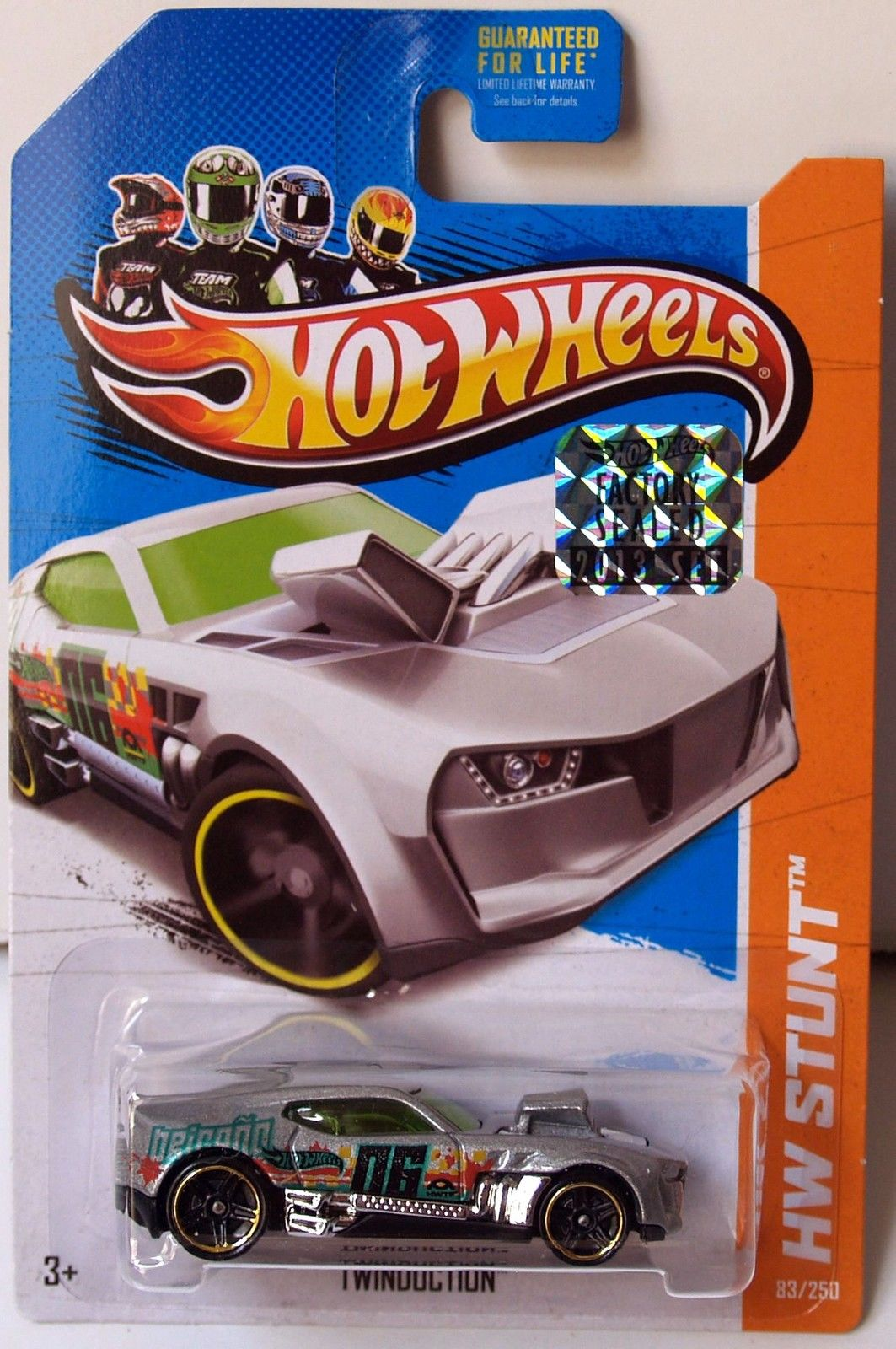 HOT WHEELS 2013 HW STUNT DRIFT RACE TWINDUCTION FACTORY SEALED