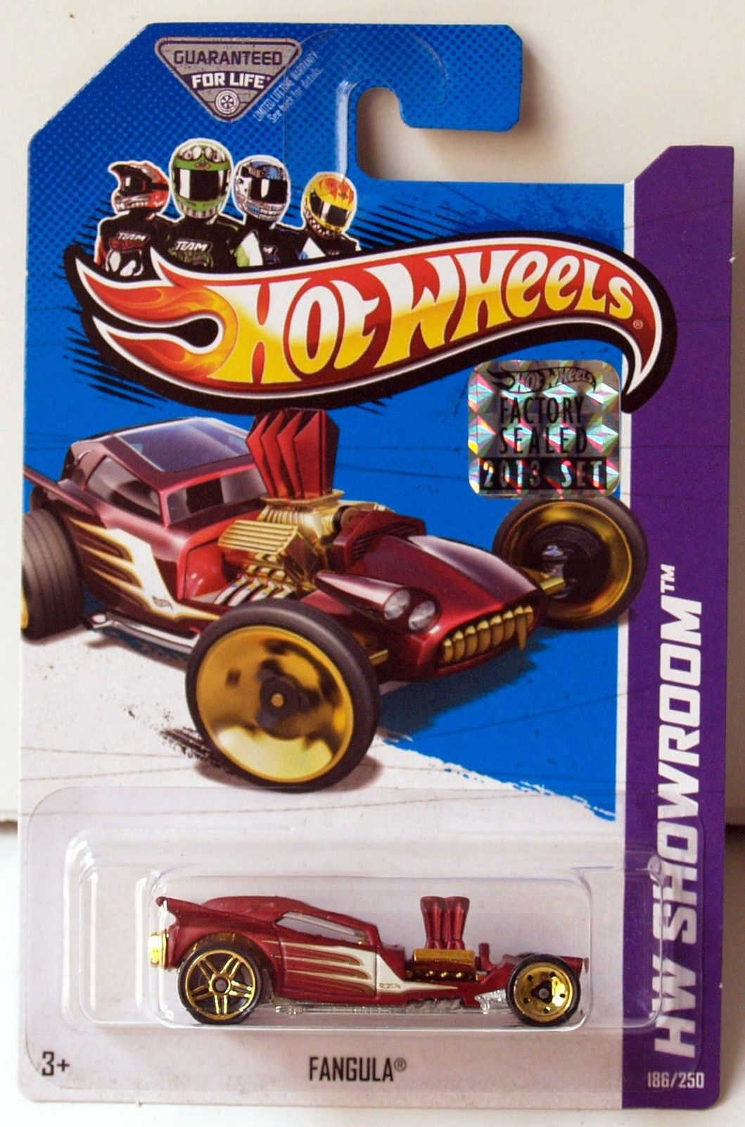 HOT WHEELS 2013 HW SHOWROOM AMERICAN TURBO FANGULA FACTORY SEALED