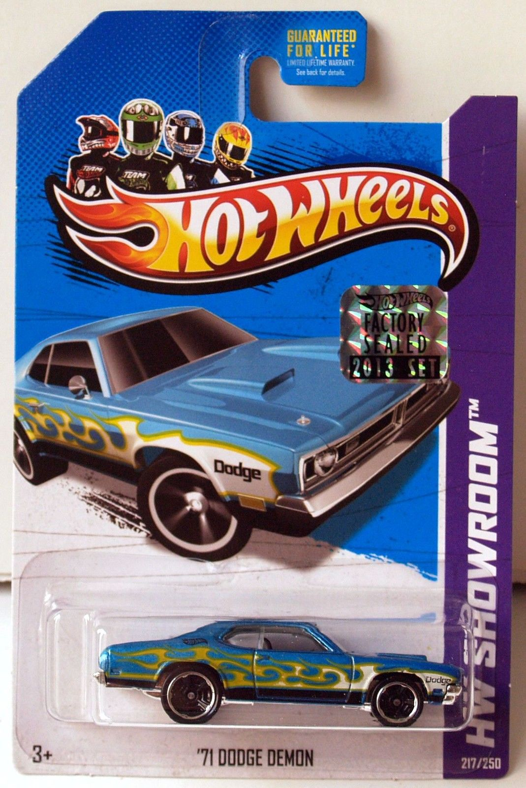 HOT WHEELS 2013 HW SHOWROOM HEAT FLEET '69 DODGE DEMON FACTORY SEALED
