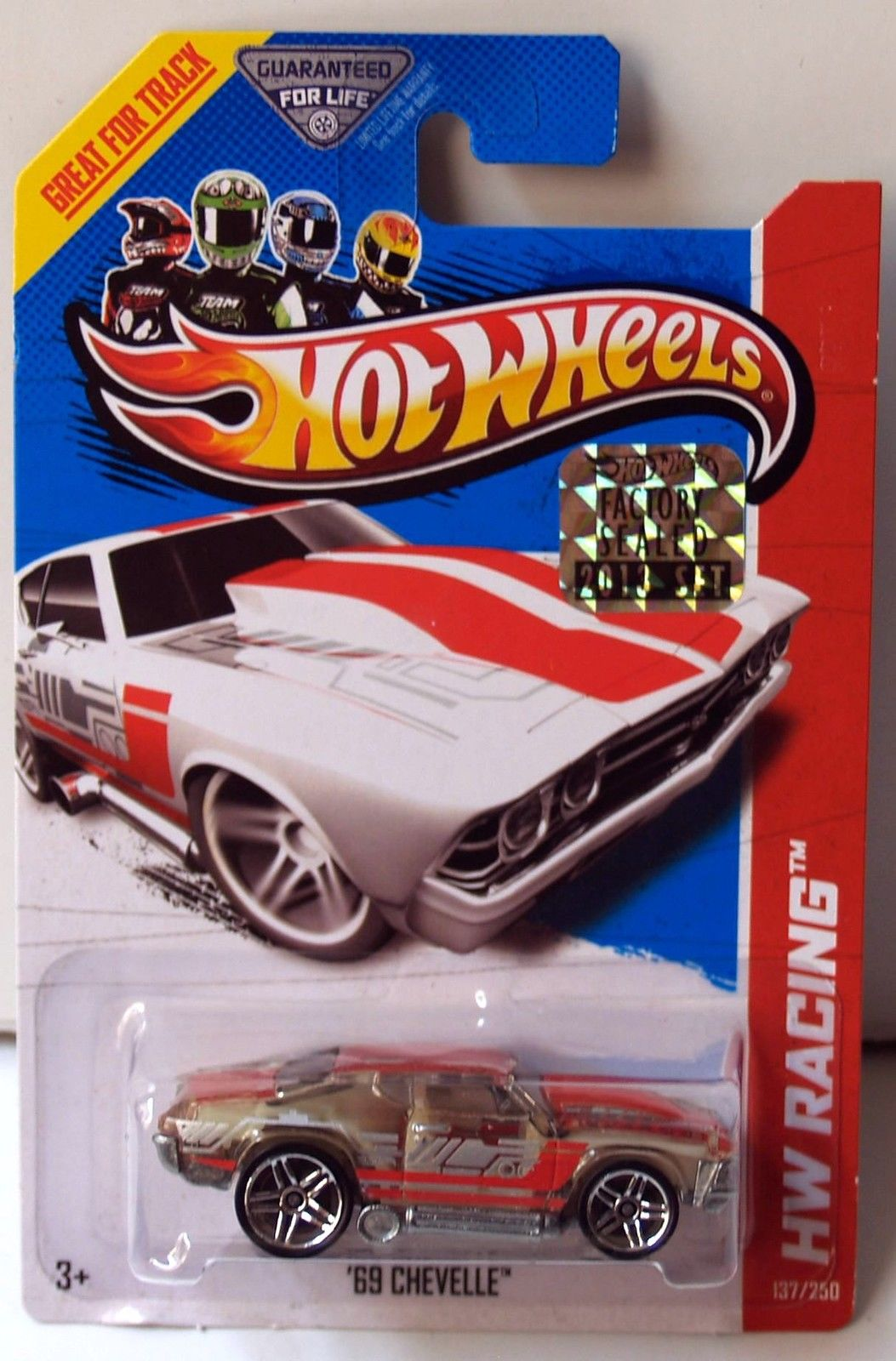 HOT WHEELS 2013 HW RACING X-RAYCERS '69 CHEVELLE FACTORY SEALED
