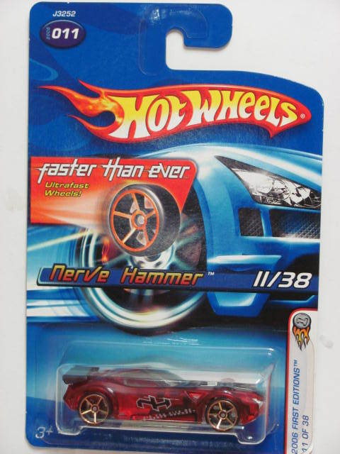 HOT WHEELS 2006 FTE FIRST EDITIONS NERVE HAMMER #011