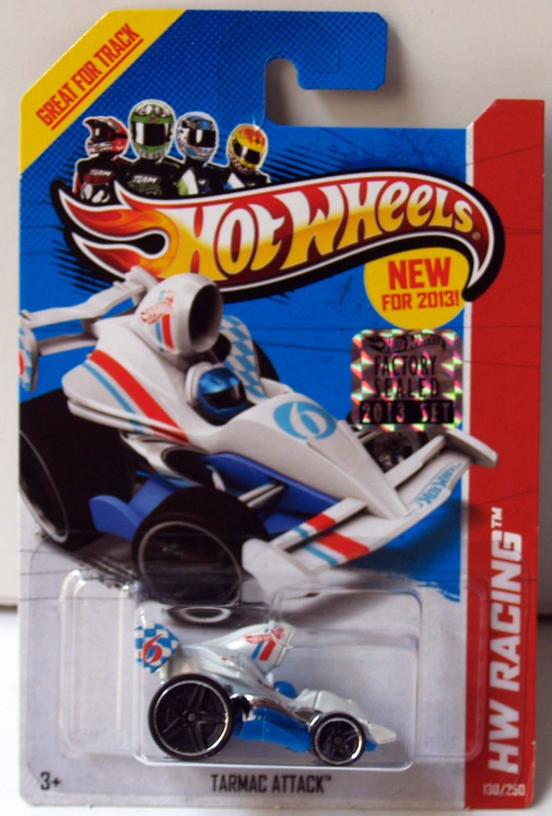 HOT WHEELS 2013 HW RACING TARMAC ATTACK FACTORY SEALED