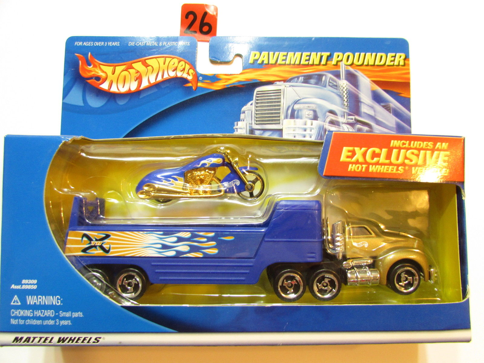 HOT WHEELS PAVEMENT POUNDERS TREASURE HUNT SCORCHIN SCOOTER