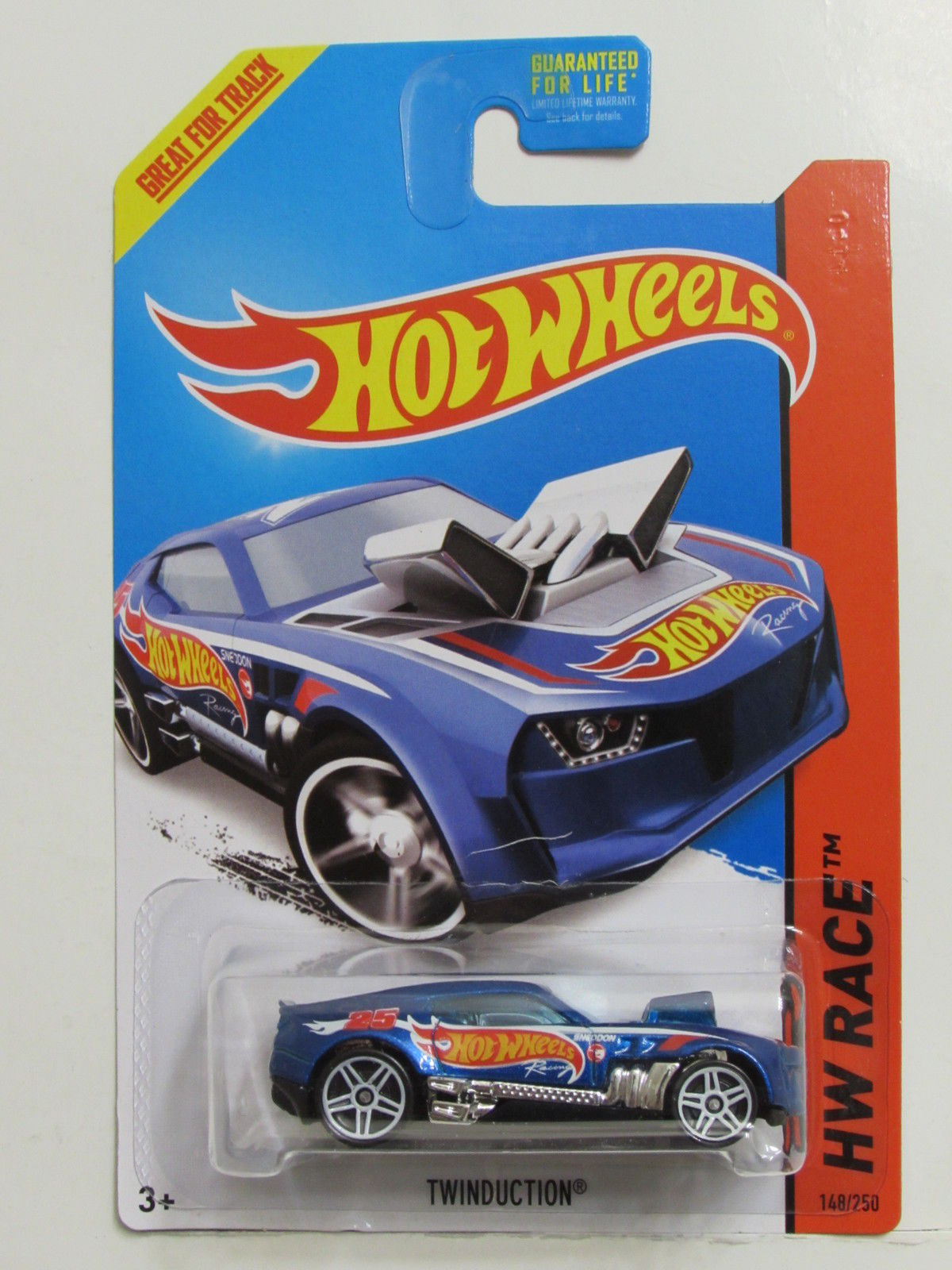 HOT WHEELS 2014 HW RACE - HW RACE TEAM TWINDUCTION TREASURE HUNT
