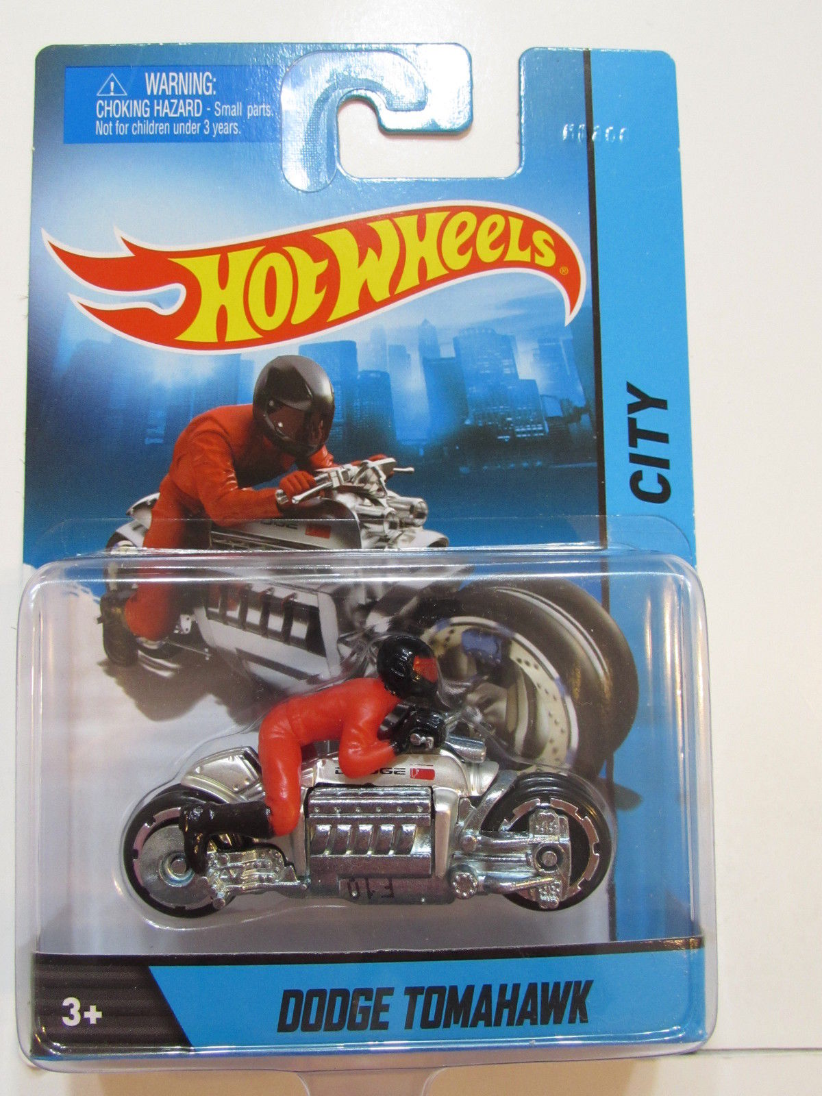 HOT WHEELS 2014 CITY DODGE TOMAHAWK 1:64 SCALE