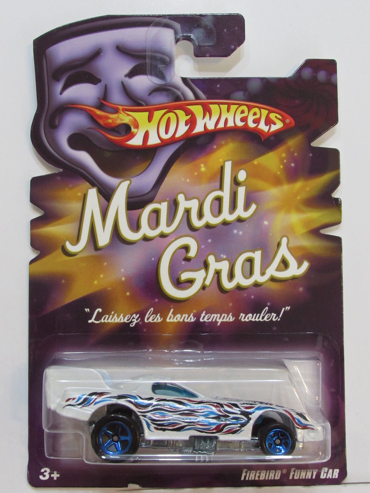 HOT WHEELS MARDI GRAS FIREBIRD FUNNY CAR
