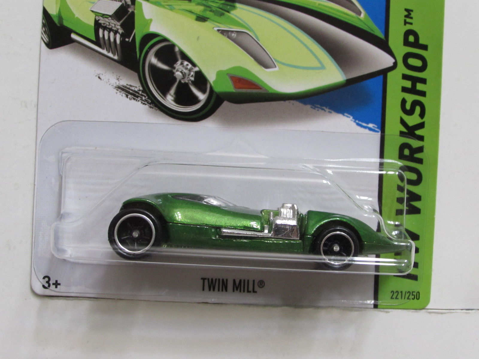 HOT WHEELS 2014 SUPER TREASURE HUNT TWIN MILL MIB