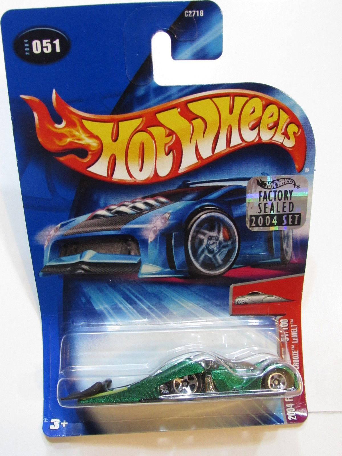 HOT WHEELS 2004 FIRST EDITIONS CROOZE LEMELT #051 FACTORY SEALED