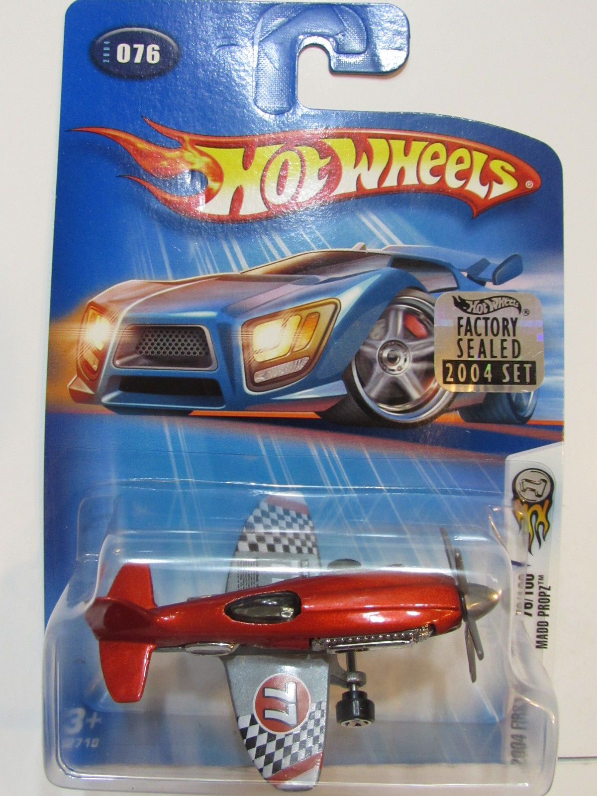 HOT WHEELS 2004 FIRST EDITIONS MADD PROPZ #076 FACTORY SEALED