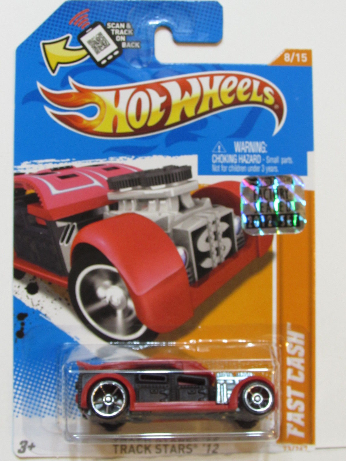 HOT WHEELS TRACK STARS 2012 FAST CASH FACTORY SEALED