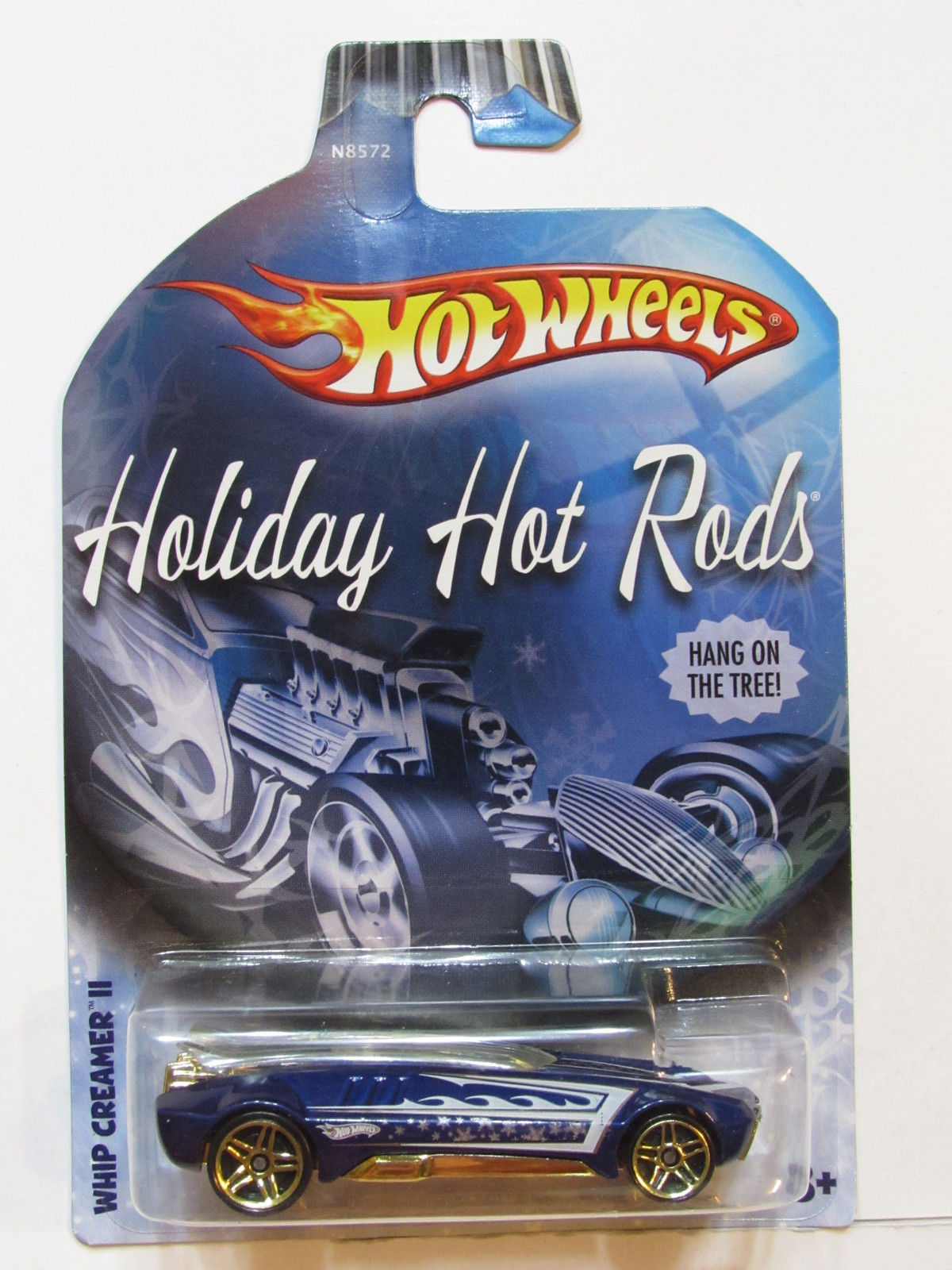 HOT WHEELS HOLIDAY HOT RODS 2009 WHIP CREAMER 11