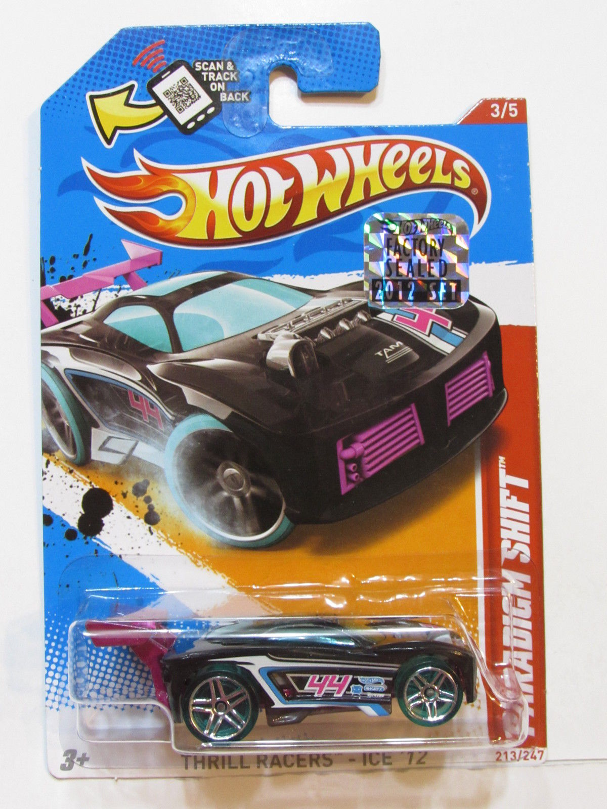 HOT WHEELS 2012 THRILL RACERS-ICE PARADIGM SHIFT FACTORY SEALED