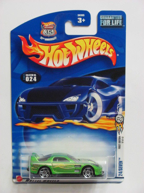 HOT WHEELS 2003 FIRST EDITIONS 24/SEVEN #024