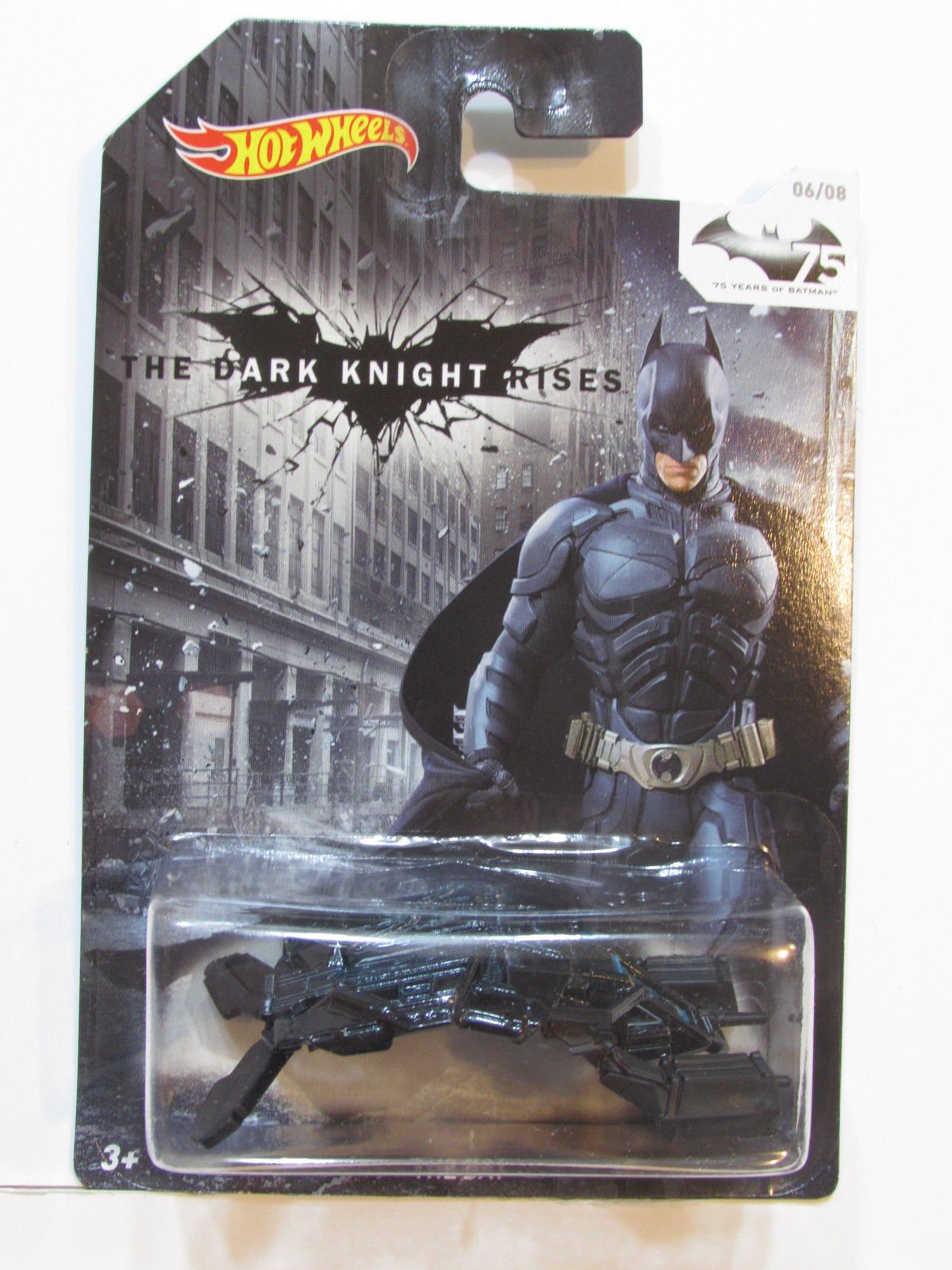 HOT WHEELS BATMAN 2014 THE BAT #06/08
