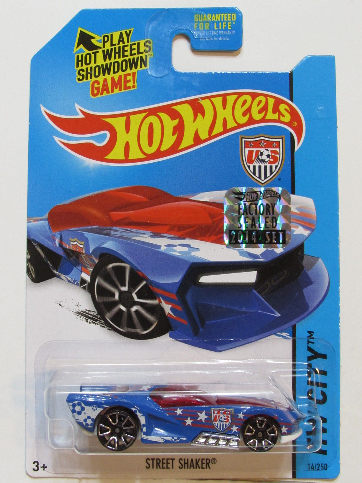 HOT WHEELS 2014 HW CITY STREET SHAKER FACTORY SEALED