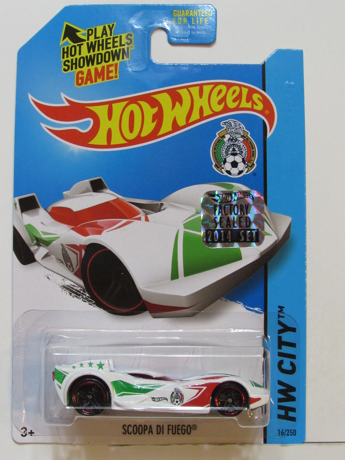 HOT WHEELS 2014 HW CITY SCOOPA DI FUEGO FACTORY SEALED