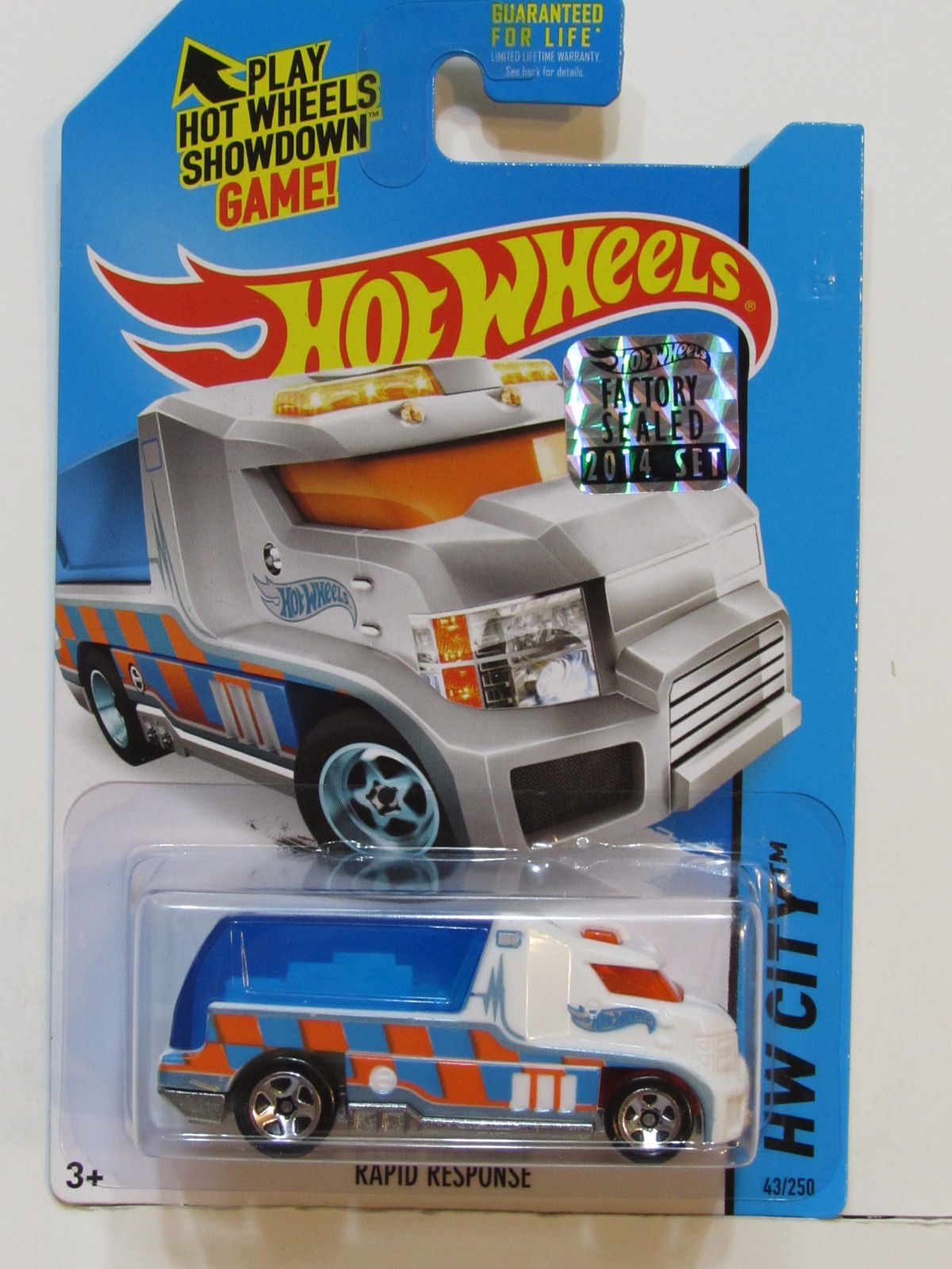 HOT WHEELS 2014 HW CITY RAPID RESPONSE FACTORY SEALED