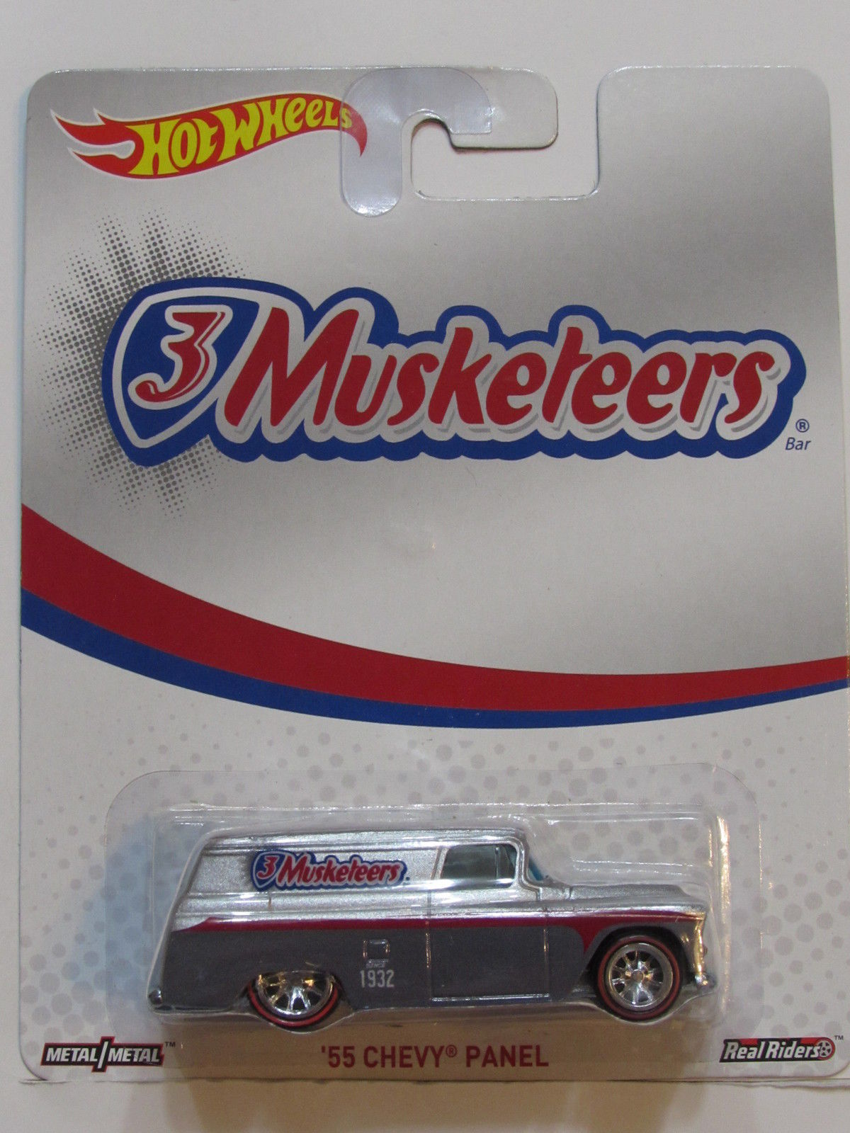 HOT WHEELS 3 MUSKETEERS '55 CHEVY PANEL