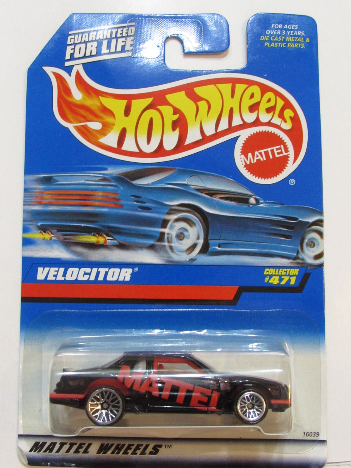 HOT WHEELS 1998 #471 VELOCITOR