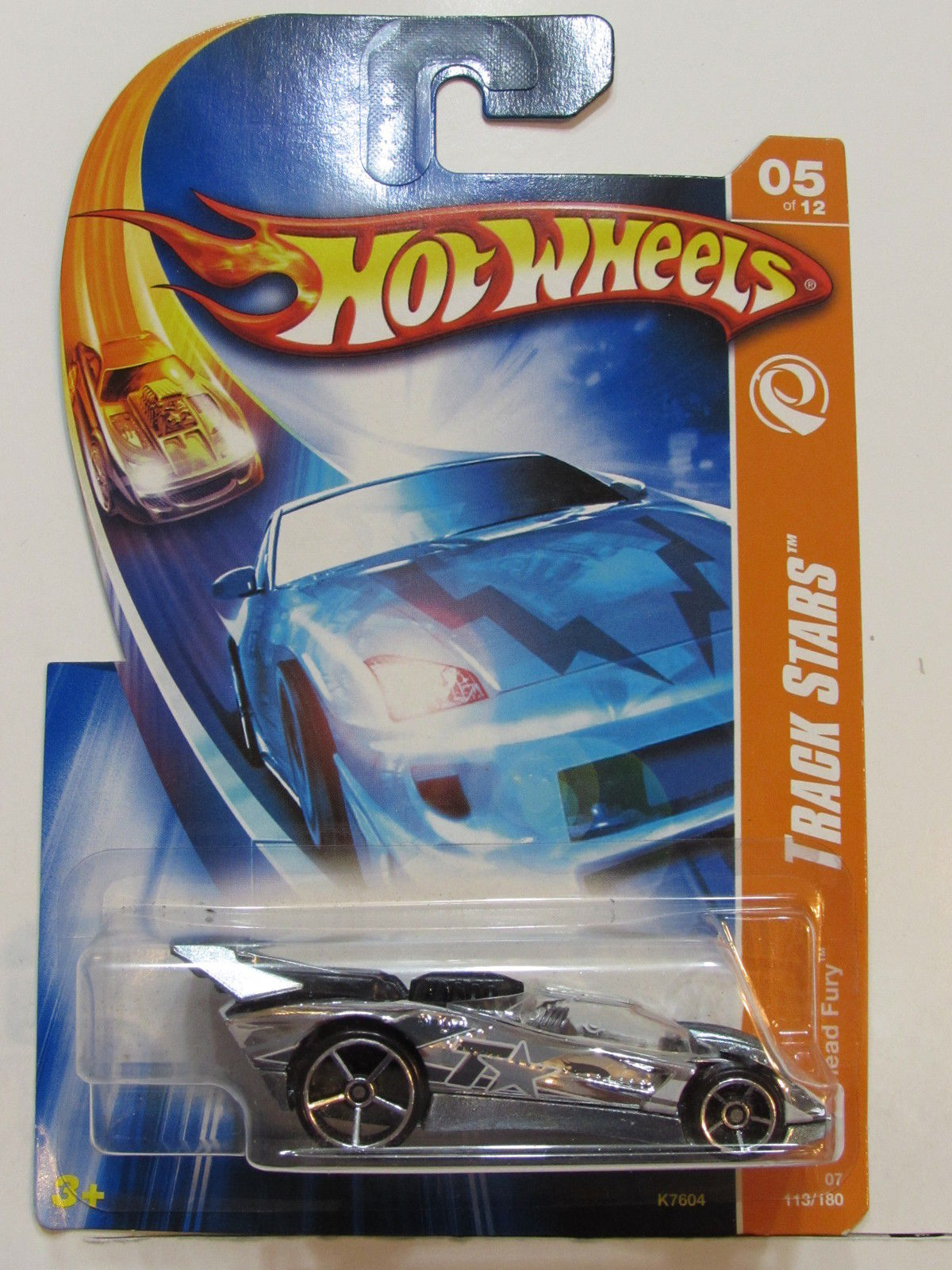 HOT WHEELS 2007 TRACK STARS FLATHEAD FURY #05/12